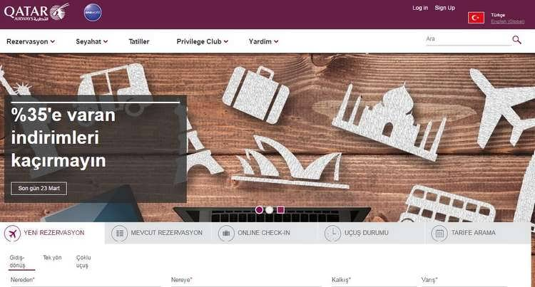 Qatar Airways indirim kuponu