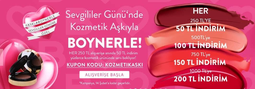 boyner sevgililer günü kozmetik indirimi
