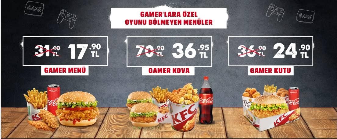 Gamer Menu